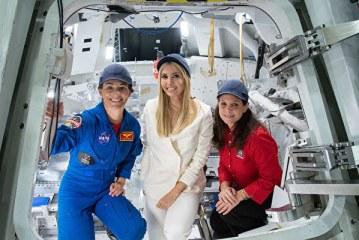 美國第一千金訪NASA 自曝想當太空人
