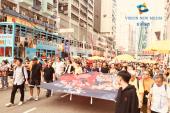 十三萬反对港府修订《逃犯条例》續23條規模遊行