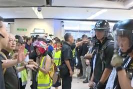 『看新媒體』沙田清場  10名區議員控訴警方知法犯法『現場視頻』
