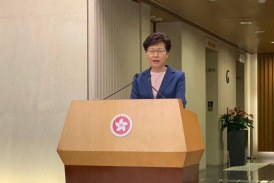 林鄭月娥:宣佈『逃犯條例』草案已「壽終正寢」