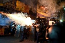 【五大訴求抗爭】8.14深水埗市民集會祈福 警發催淚彈
