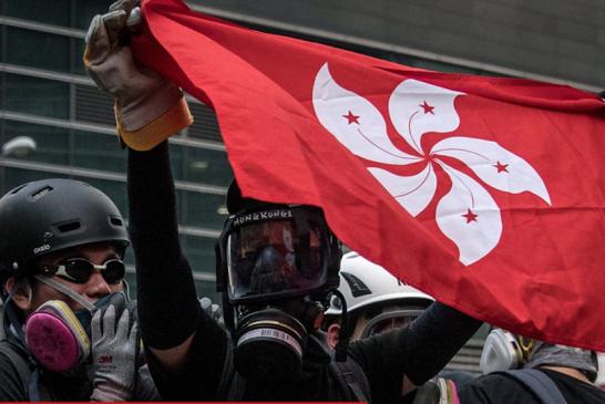 拆字「香港」看反送中數命