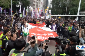 20年港人元旦持續示威遊行,警方腰斬濫捕