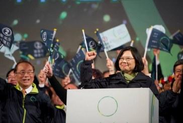 以人為本-蔡英文將續任台灣總統