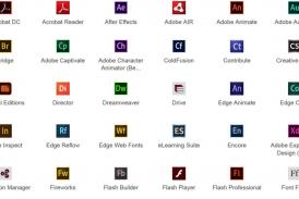 Adobe家族各个软件的功能都是什么?