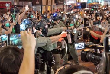 (粵語廣播🎙️)港人母親節抗暴 警旺角拘二百人 區議員強烈譴責警暴