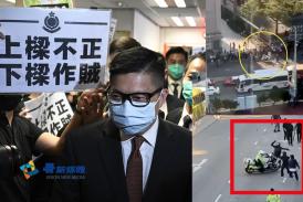 (粵語廣播🎙️)鄧炳強拒就警在旺角對傳媒施暴道歉