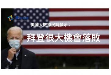 【美國總統大選】美國民調:拜登會落敗  English Interview