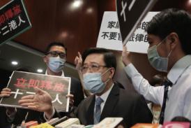 【送中案】12港人被送中 保安局長李家超立法會被質詢 拒答派飛機監視