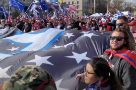 【美國大選】美國首都華盛頓DC百萬集會撐川普
