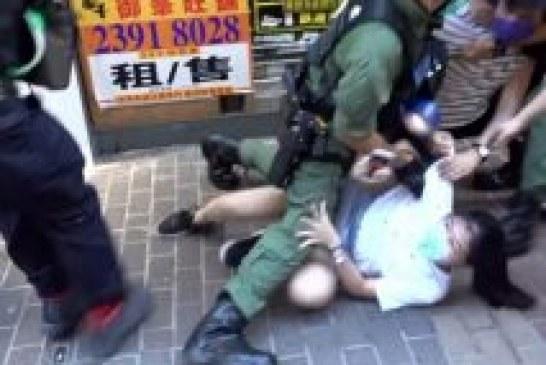 【民案】遭警膝壓 12歲女童終獲撤限聚令告票