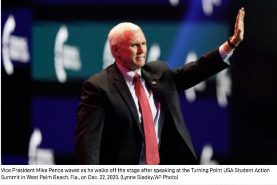 "【美國大選】(English)Secret Service Says It's 'Aware' of Death Threats Made Against Pence特勤局說,它""意識到""針對便士的死亡威脅"
