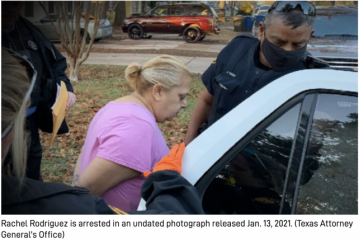 Texas Woman Who Bragged About Ballot Harvesting Arrested for Fraud 得克薩斯州婦女因欺詐而被捕