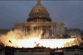 【美國大選】美國國會認證拜登  部分民眾進入國會抗義
