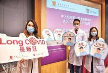 中大研究:8成病毒患者康復後現持續後遺症