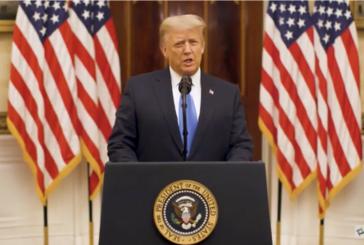 President Trump's Farewell Address to the Nation: Full Transcript 特朗普總統的告別演說:全文