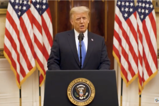 President Trump's Farewell Address to the Nation: Full Transcript 特朗普總統的告別演說:全文