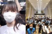 6.12兩週年 港警重兵布防、封鎖街道阻止市民聚集